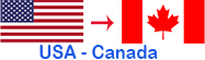 Long Distance Mover United States to Canada