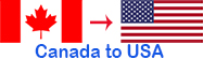 Long Distance Mover Canada to the United States